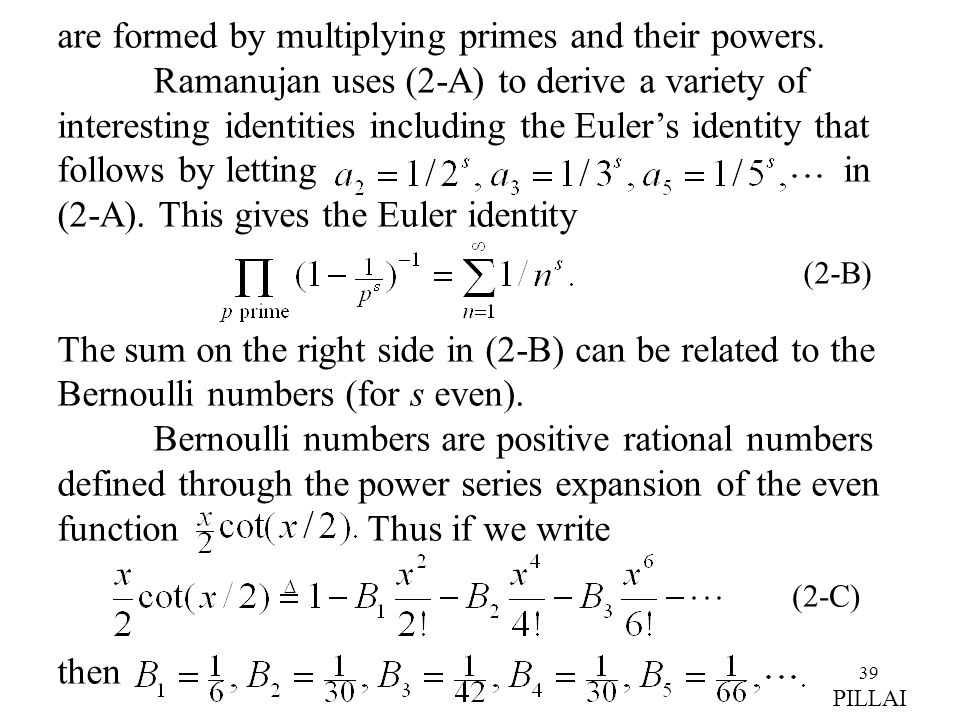 are formed by multiplying primes and their powers.