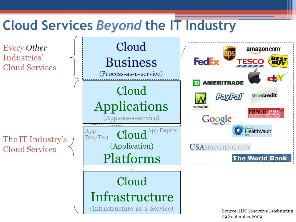 Cloud Services Beyond the IT Industry