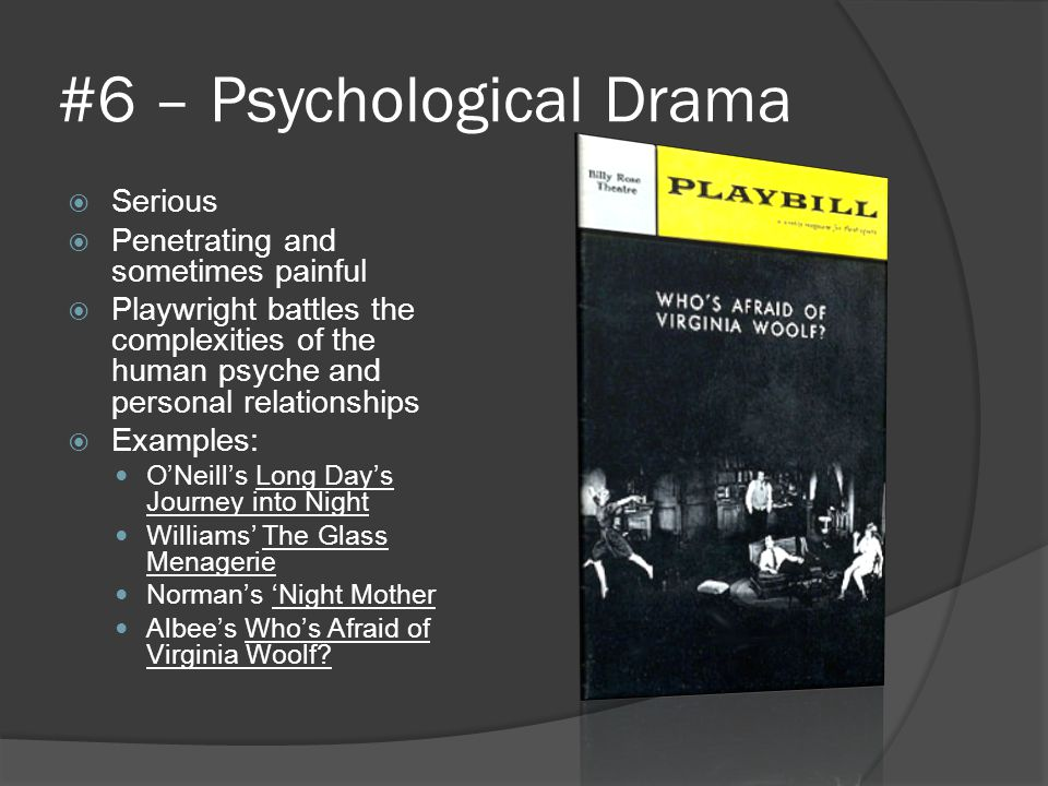 #6 – Psychological Drama
