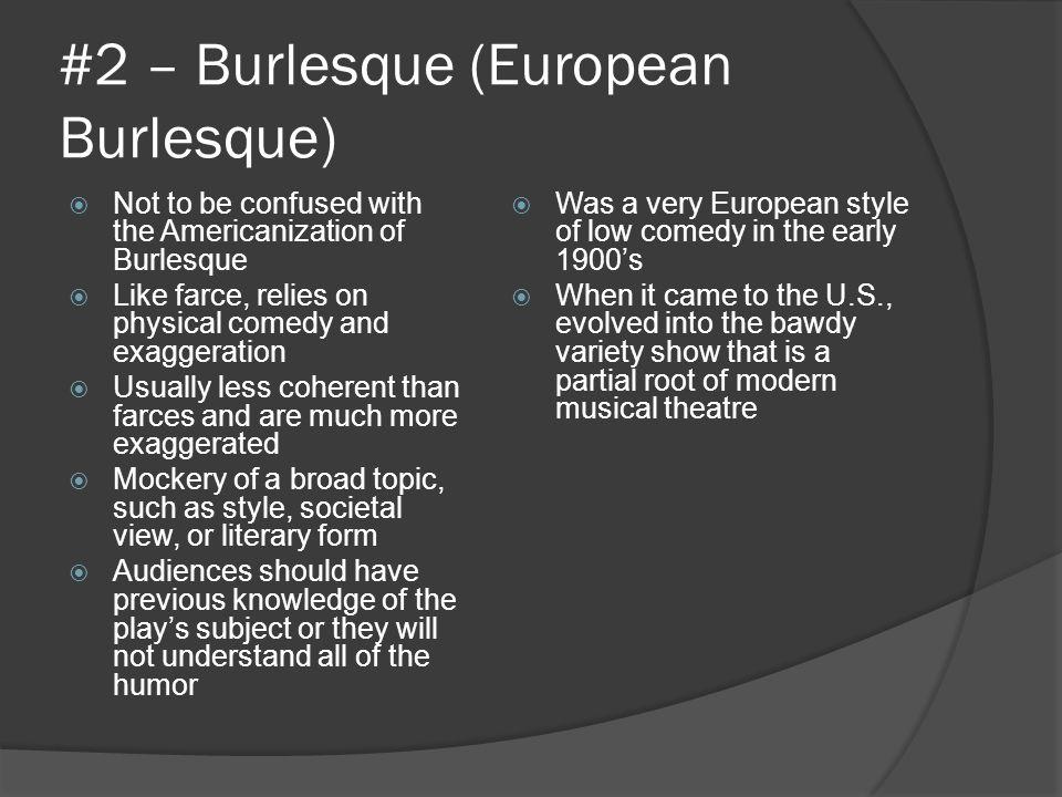 #2 – Burlesque (European Burlesque)