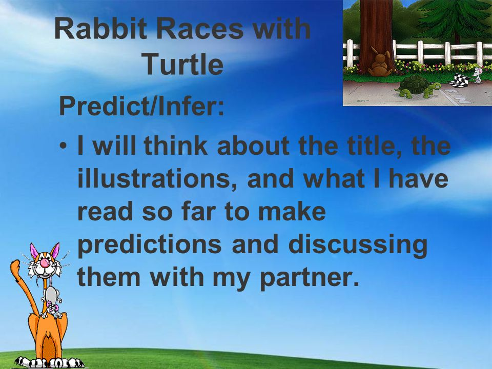 Rabbit Races with Turtle