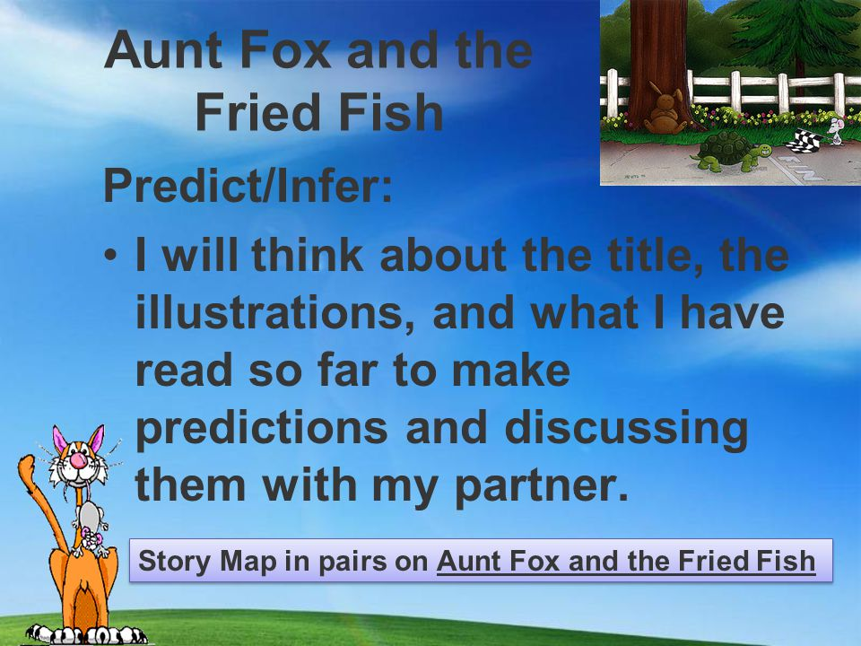 Aunt Fox and the Fried Fish