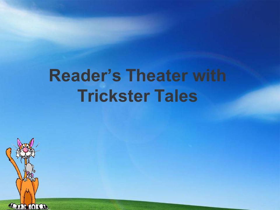 An Introduction to Trickster Tales (Day 1)