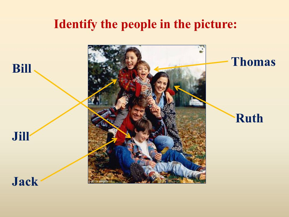 Identify the people in the picture: