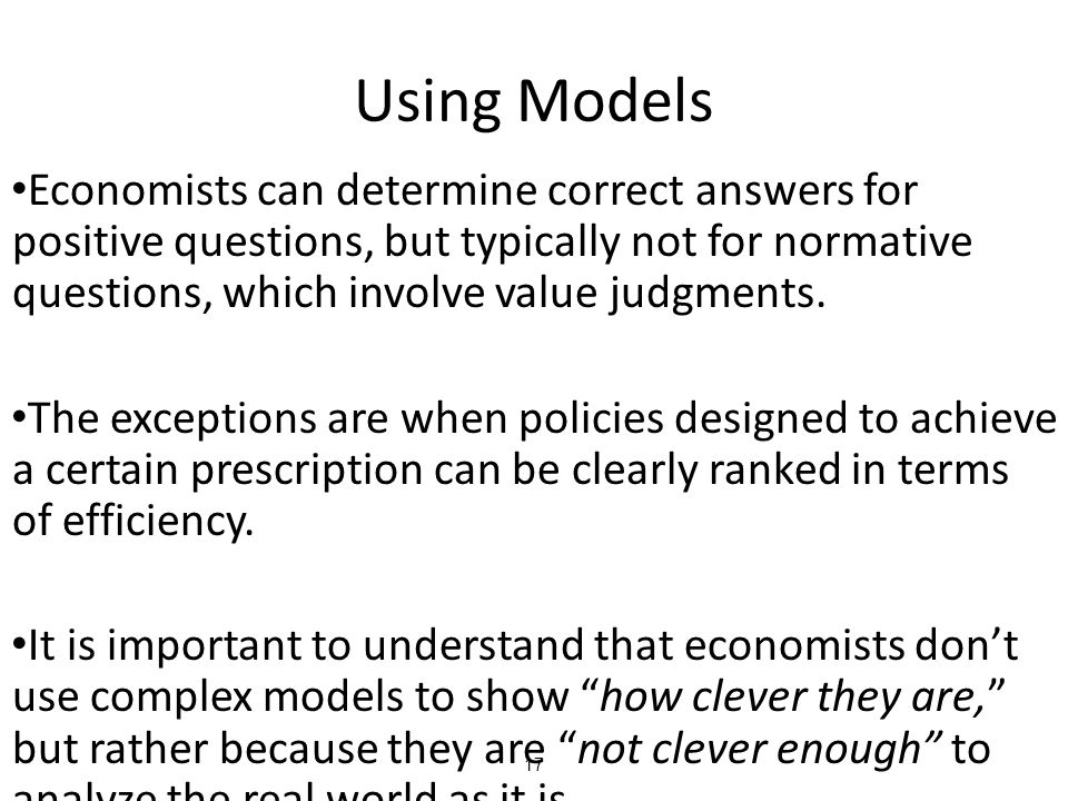 Using Models