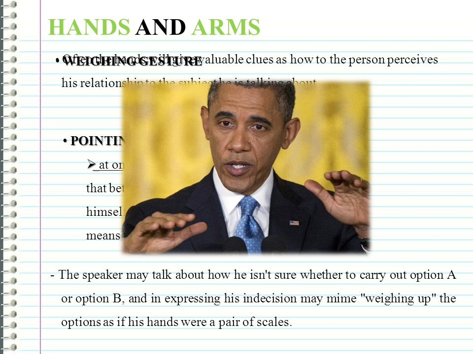 HANDS AND ARMS WEIGHING GESTURE POINTING