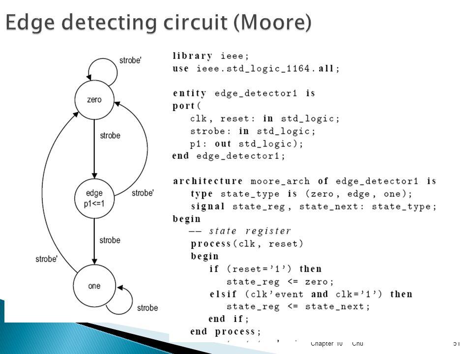 Edge detecting circuit (Moore)