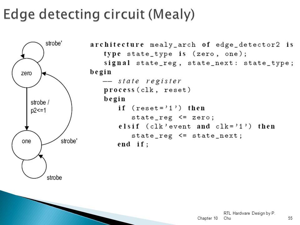 Edge detecting circuit (Mealy)