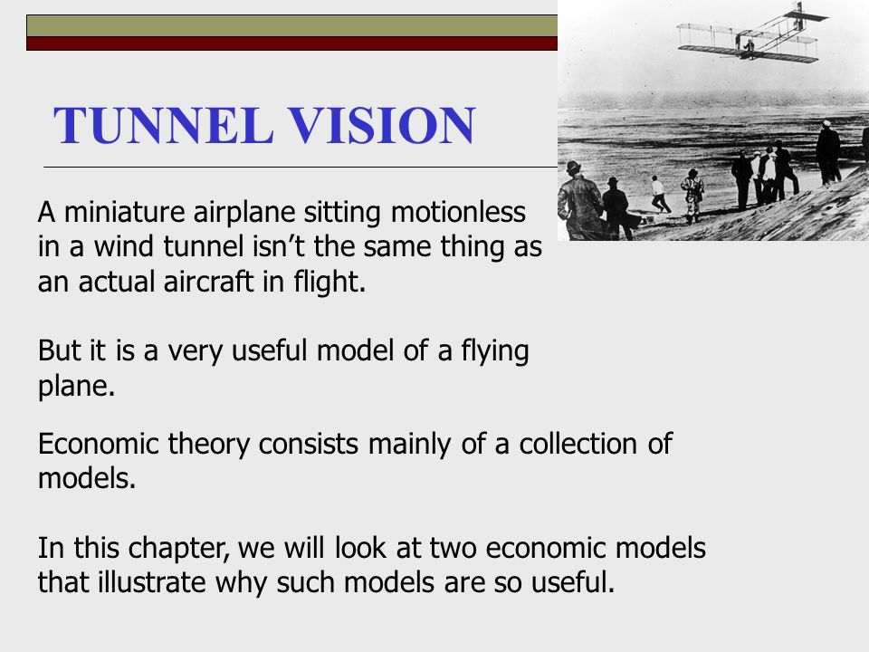 TUNNEL VISION A miniature airplane sitting motionless in a wind tunnel isn't the same thing as an actual aircraft in flight.