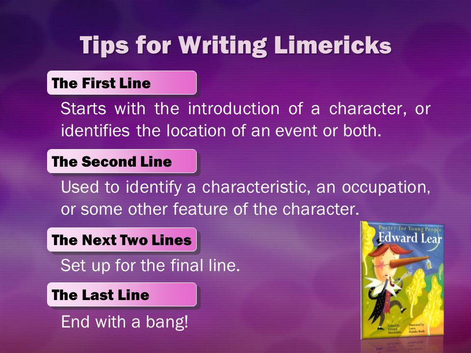 Tips for Writing Limericks