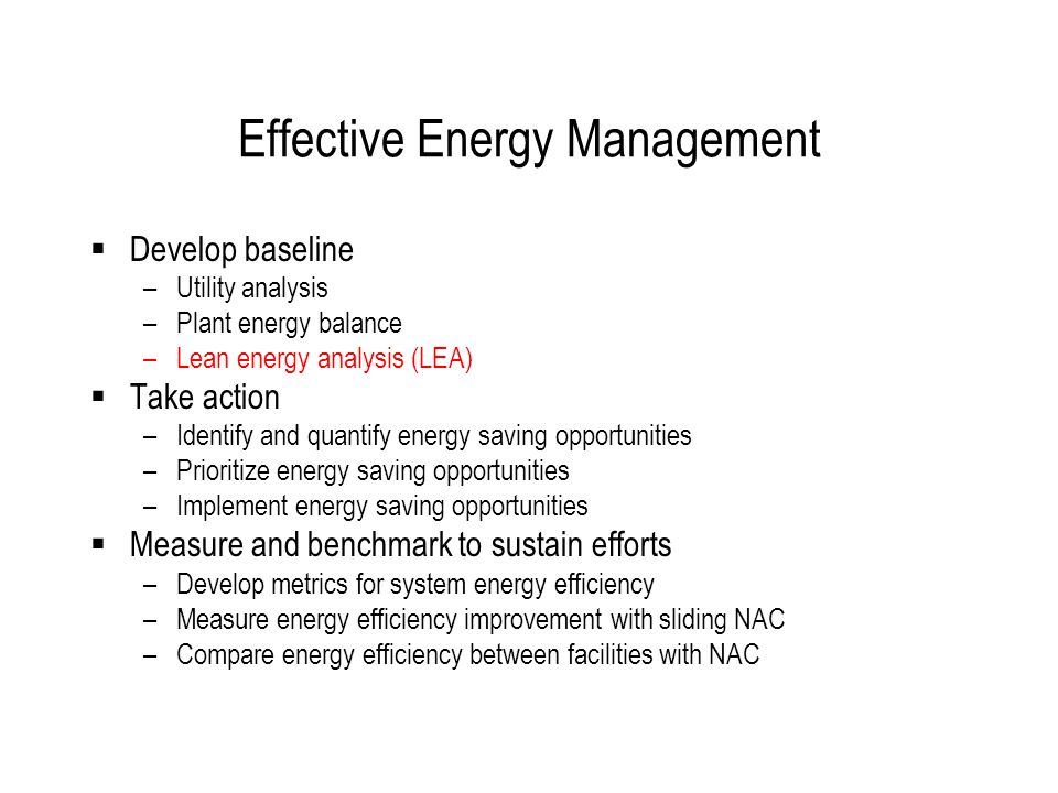 Lean Energy Analysis 2