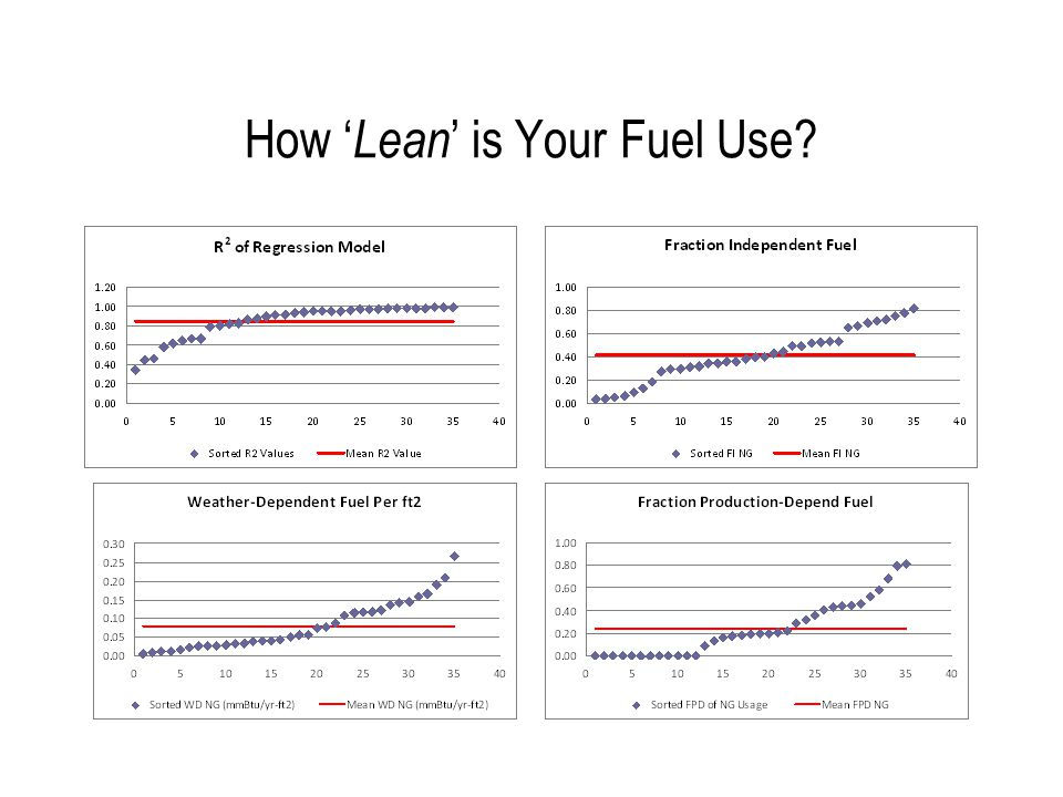 How 'Lean' is Your Electricity Use