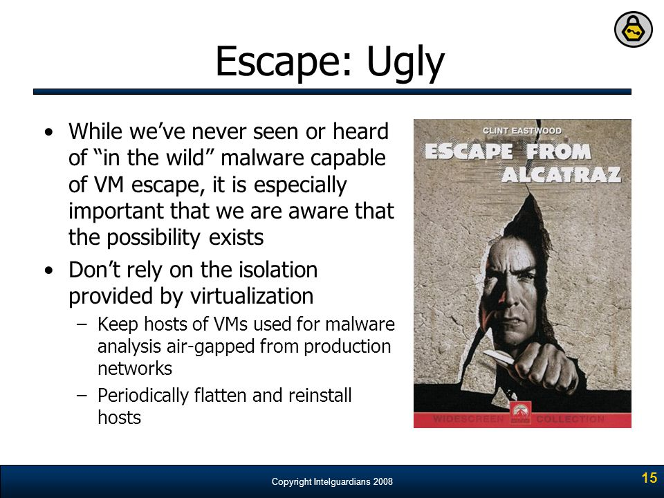 Escape: Ugly