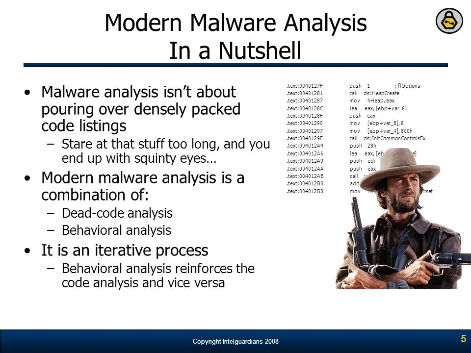 Modern Malware Analysis In a Nutshell