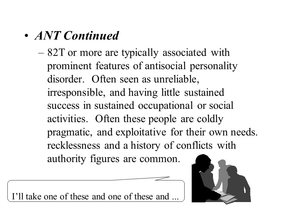 ANT Continued