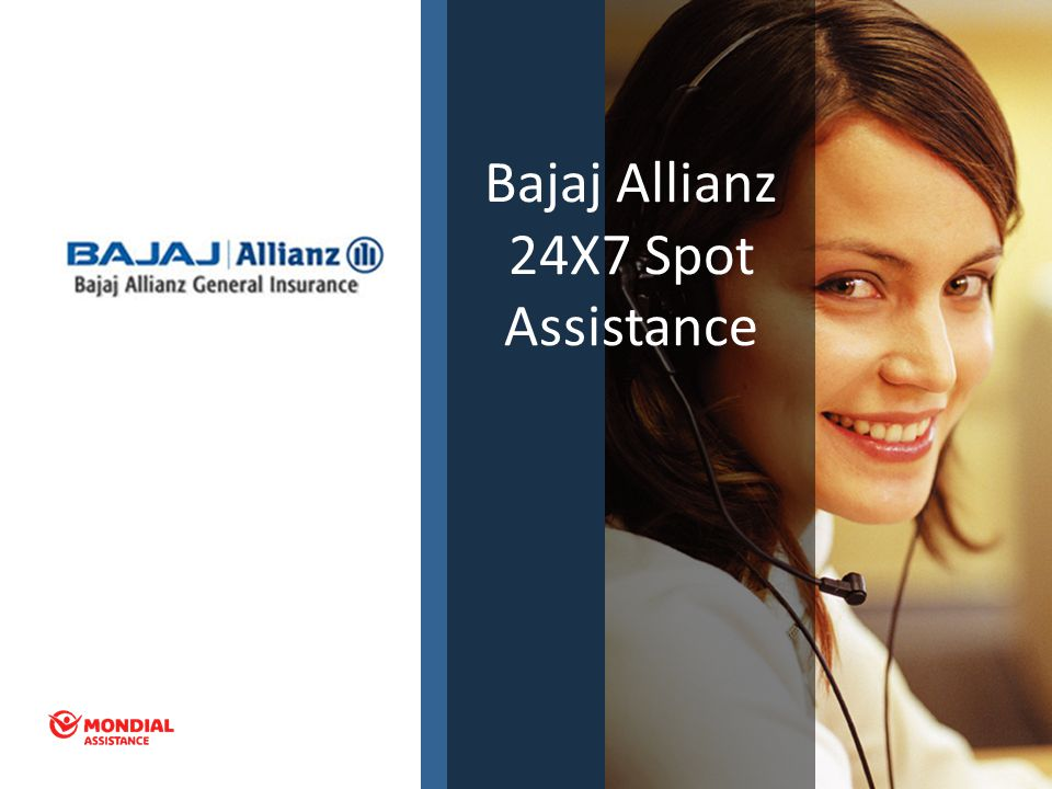 Bajaj Allianz 24X7 Spot Assistance