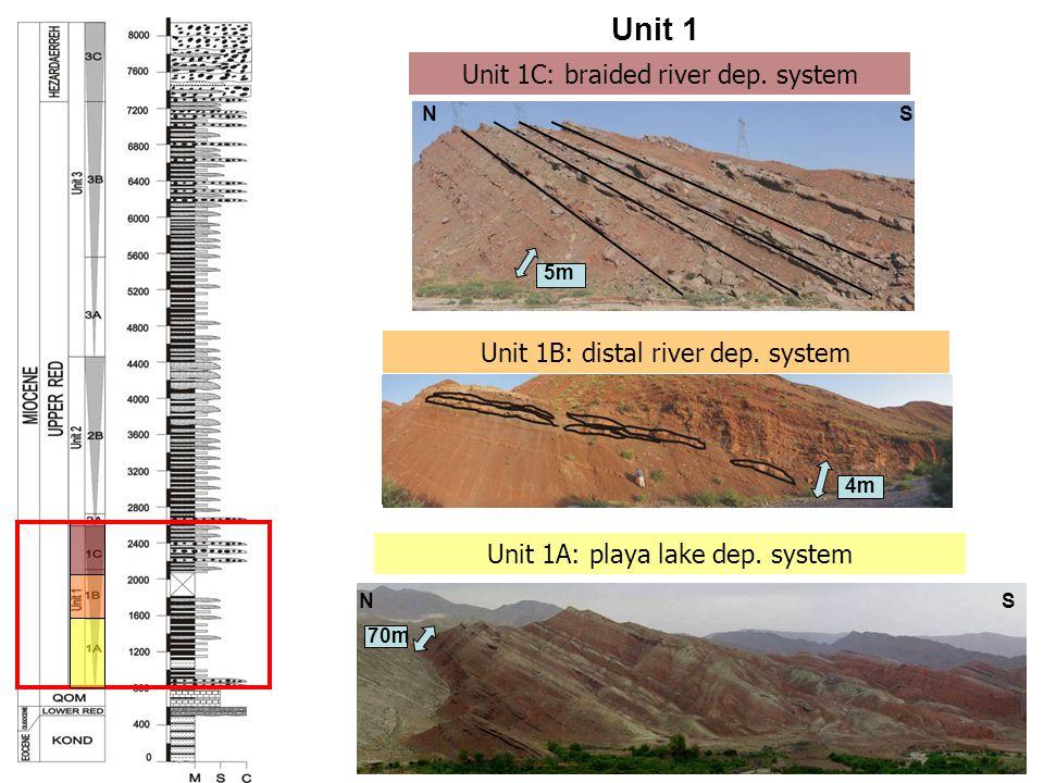Unit 1 Unit 1C: braided river dep. system