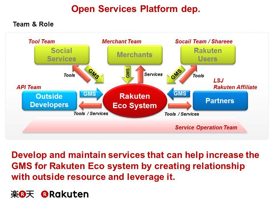 Open Services Platform dep.