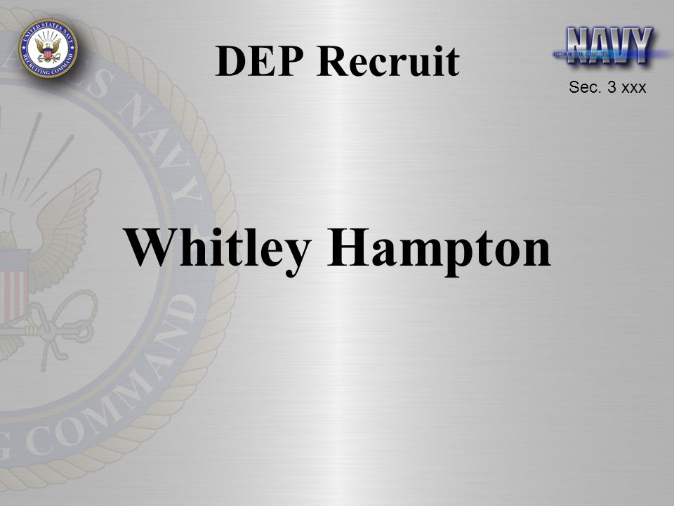DEP Recruit Whitley Hampton