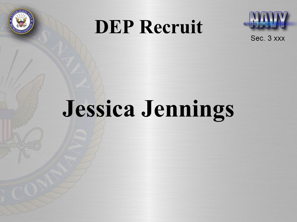 DEP Recruit Jessica Jennings