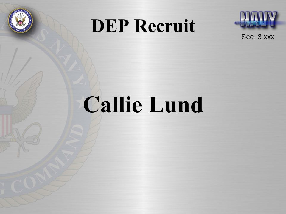 DEP Recruit Callie Lund
