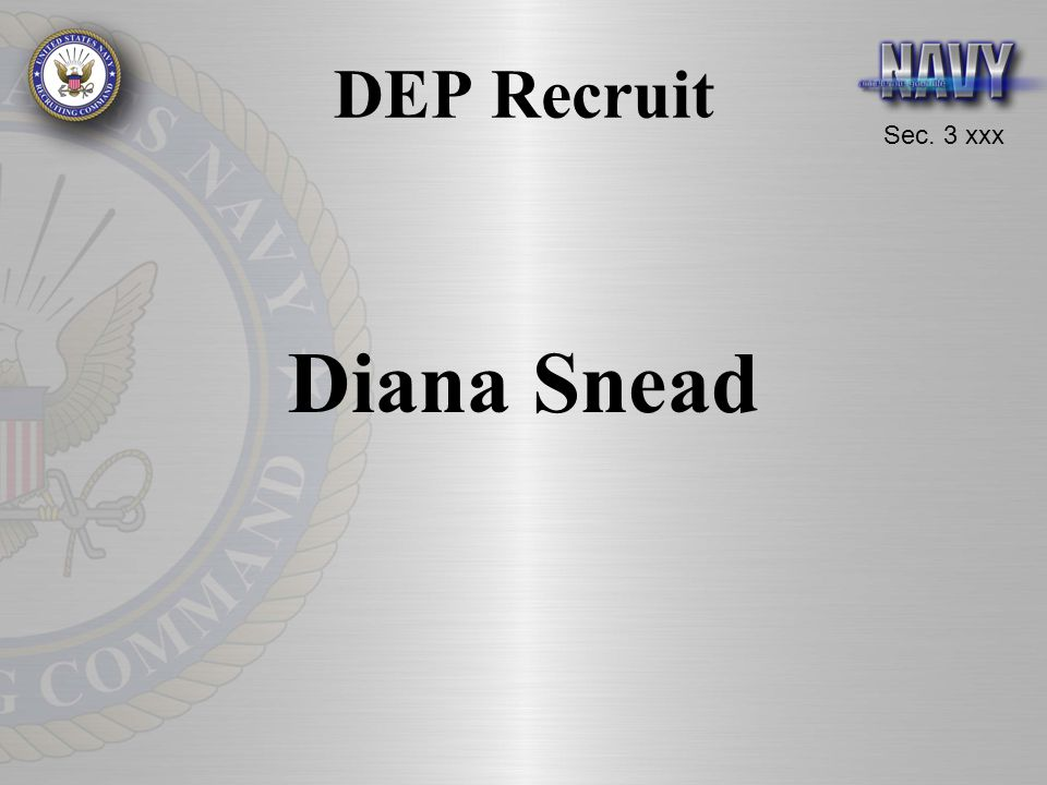 DEP Recruit Diana Snead