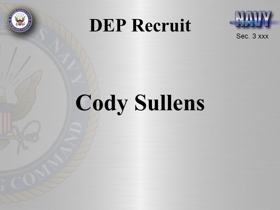 DEP Recruit Cody Sullens