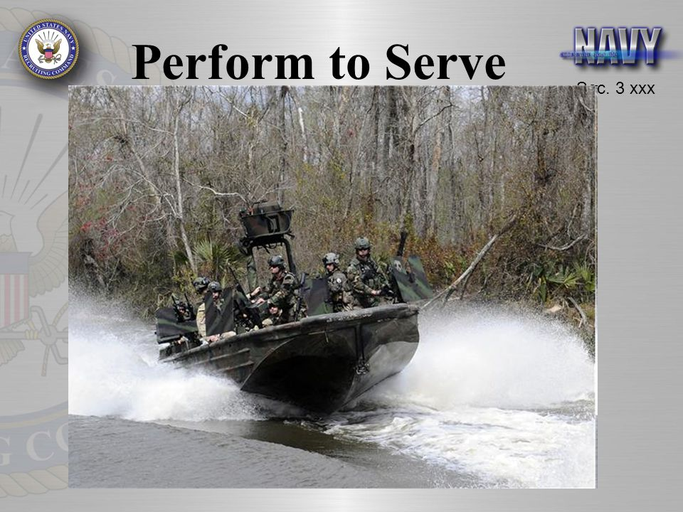 Perform to Serve