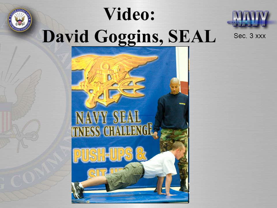 Video: David Goggins, SEAL