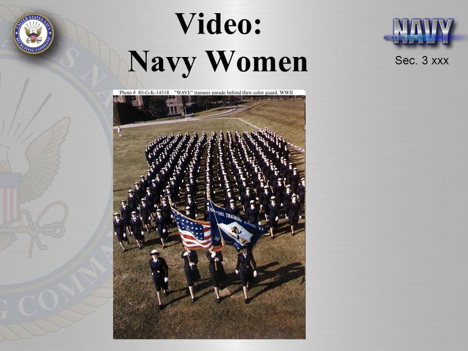 Video: Navy Women