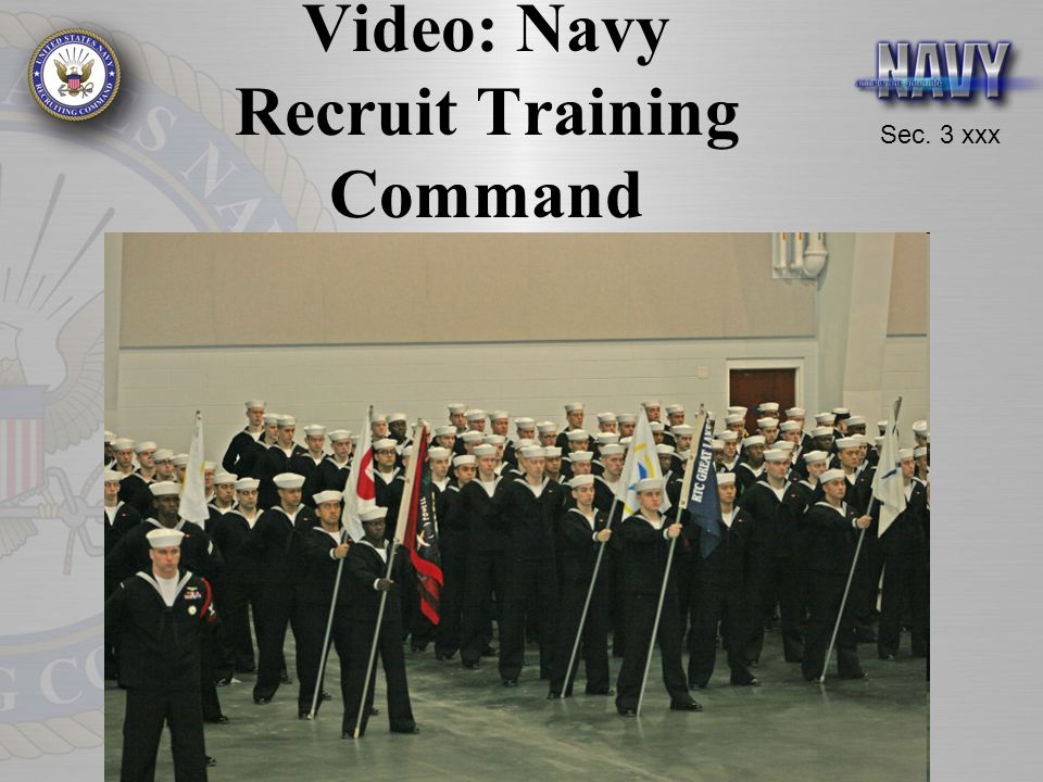 Video: Navy Recruit Training Command