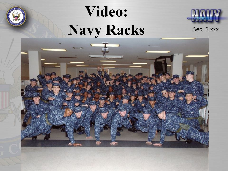 Video: Navy Racks