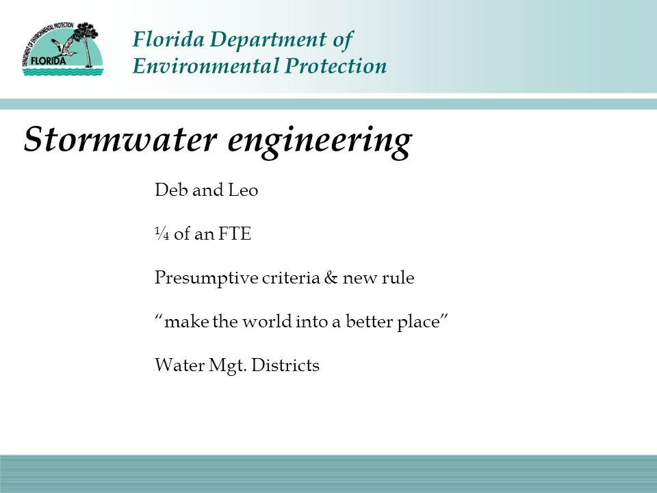 Stormwater engineering