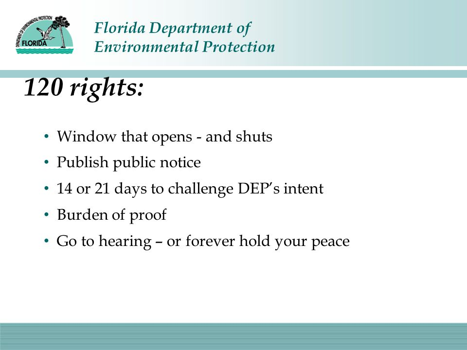 120 rights: Window that opens - and shuts Publish public notice