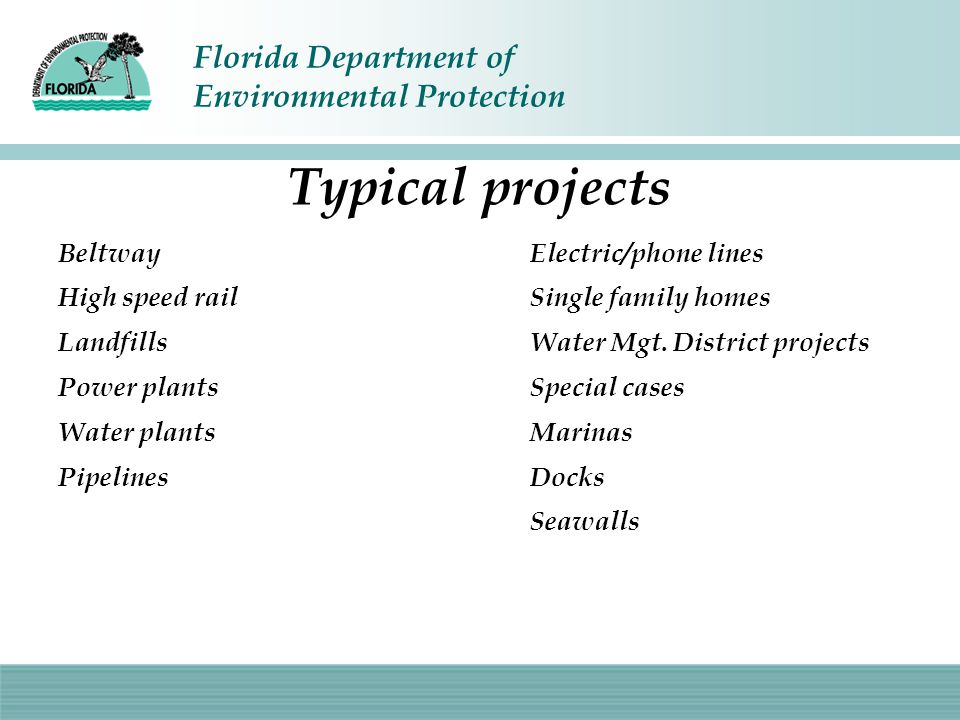 Typical projects Beltway High speed rail Landfills Power plants