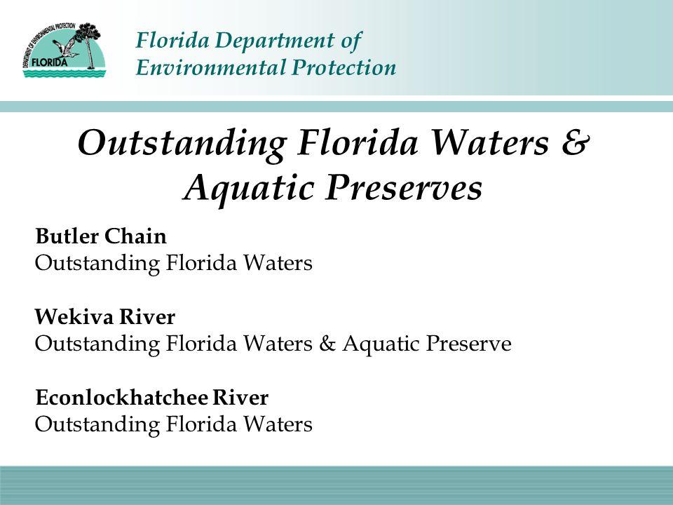 Outstanding Florida Waters & Aquatic Preserves