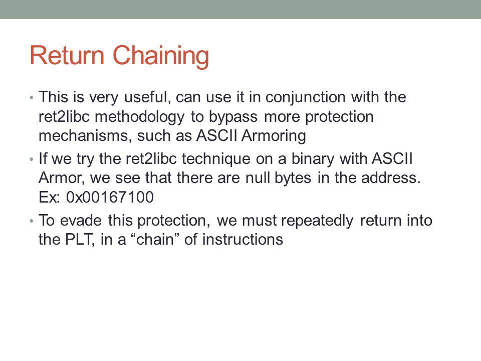 Return Chaining