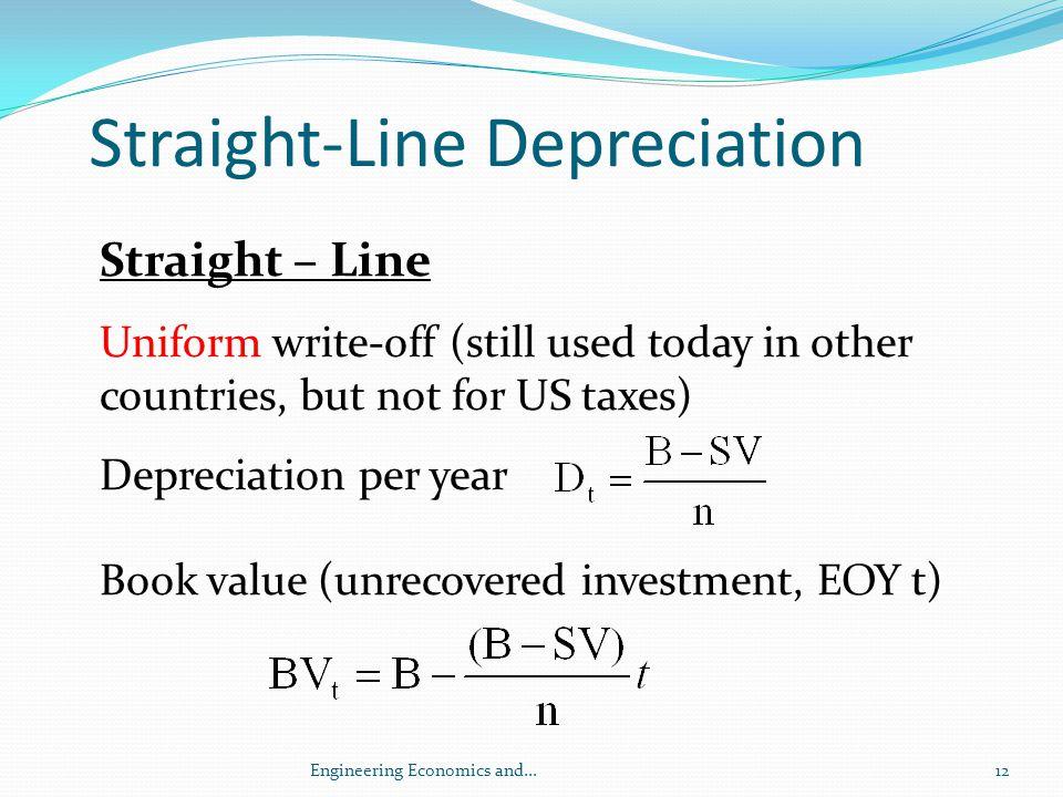 Straight-Line Depreciation