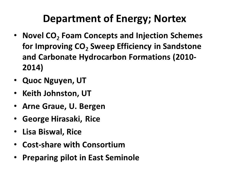 Department of Energy; Nortex