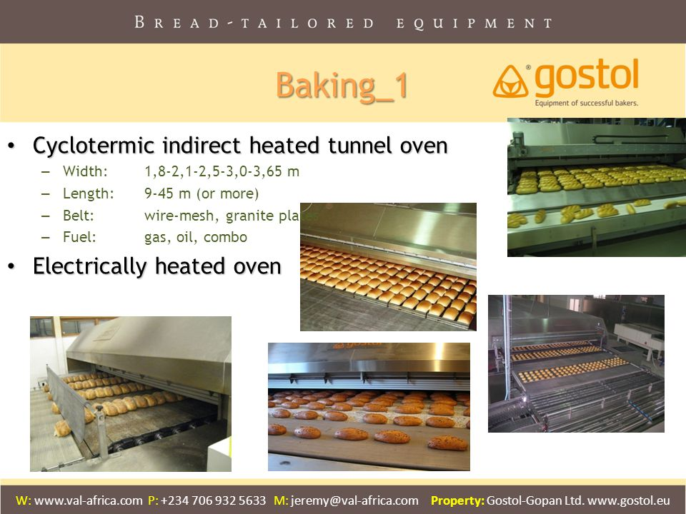 Baking_1 Cyclotermic indirect heated tunnel oven