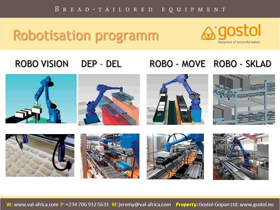 Robotisation programm