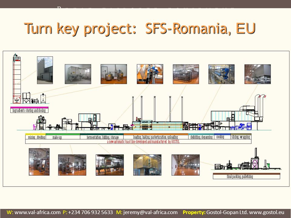 Turn key project: SFS-Romania, EU