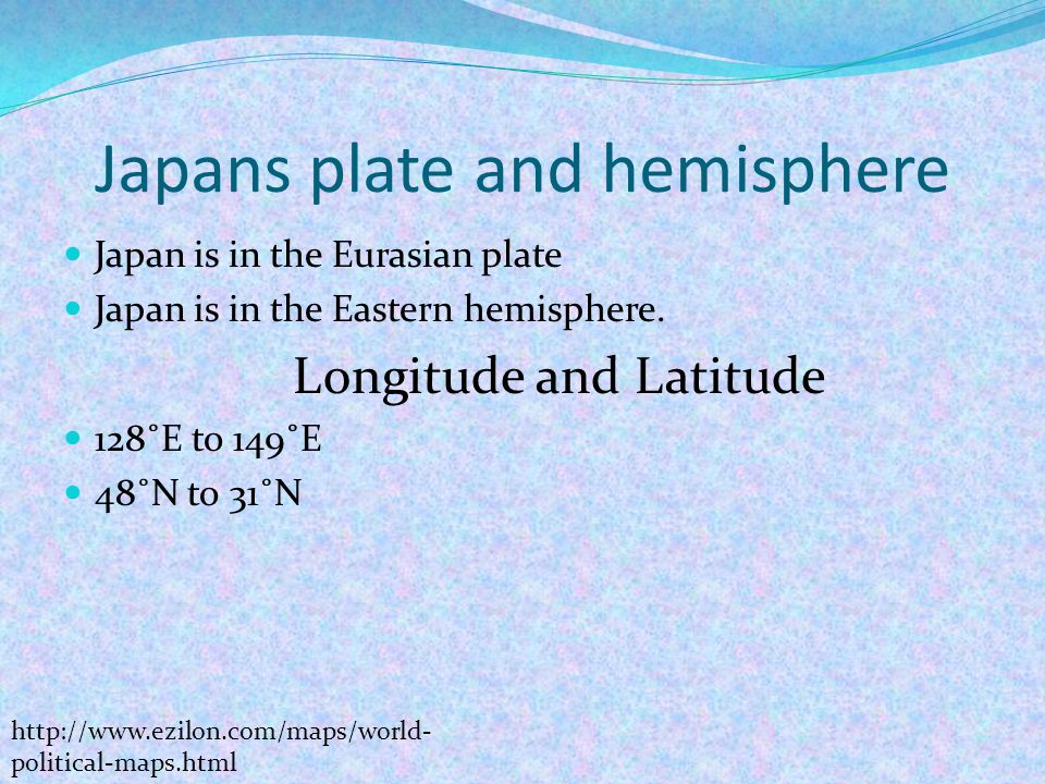 Joanna Lamrock Pictures Clipart Ppt Video Online Download - Japan map latitude and longitude