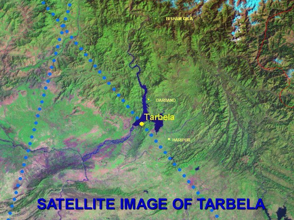 SATELLITE IMAGE OF TARBELA