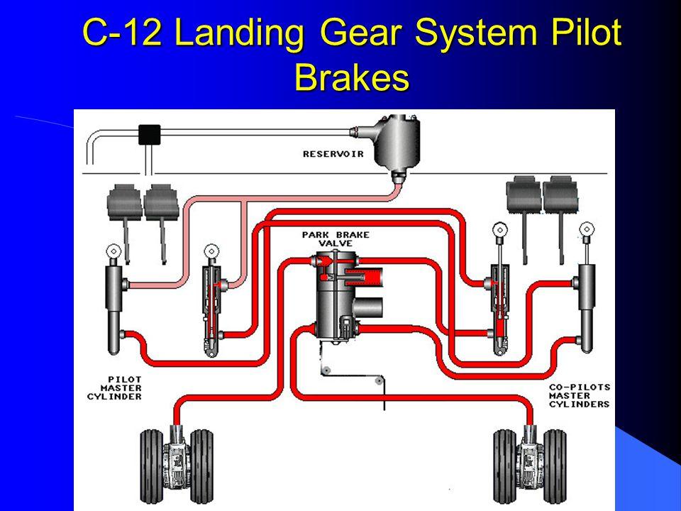 C-12 Landing Gear System Pilot Brakes