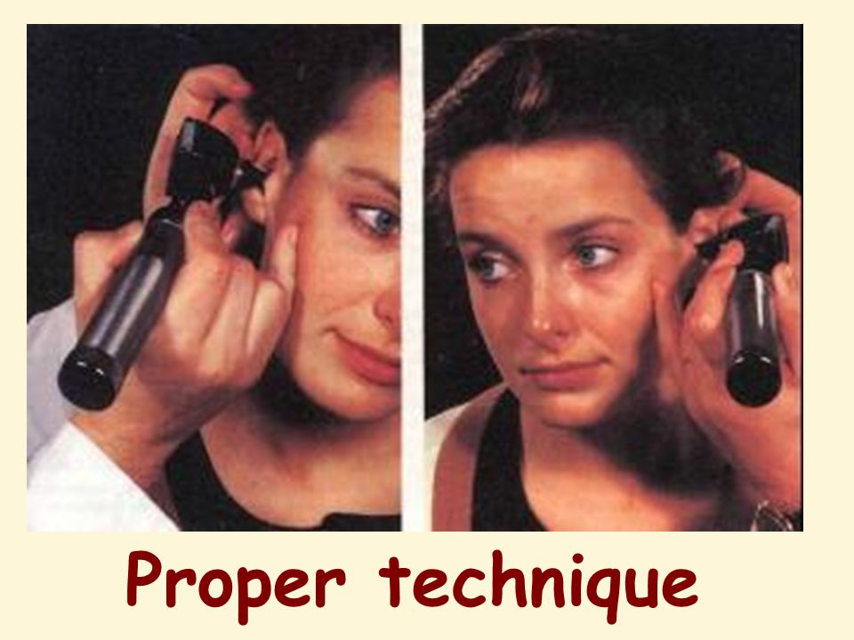 Proper technique