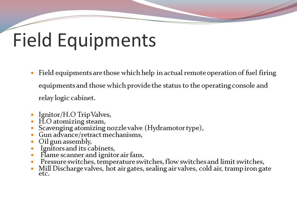 Field Equipments