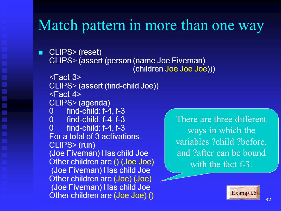 Match pattern in more than one way