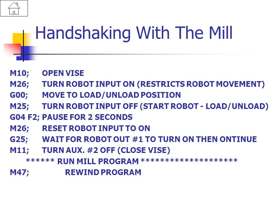Handshaking With The Mill