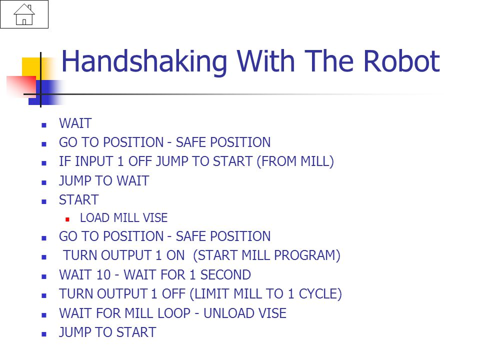 Handshaking With The Robot